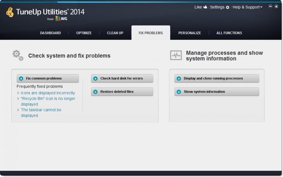 TuneUp Utilities 2014 (3 usuarios) Screenshot 5