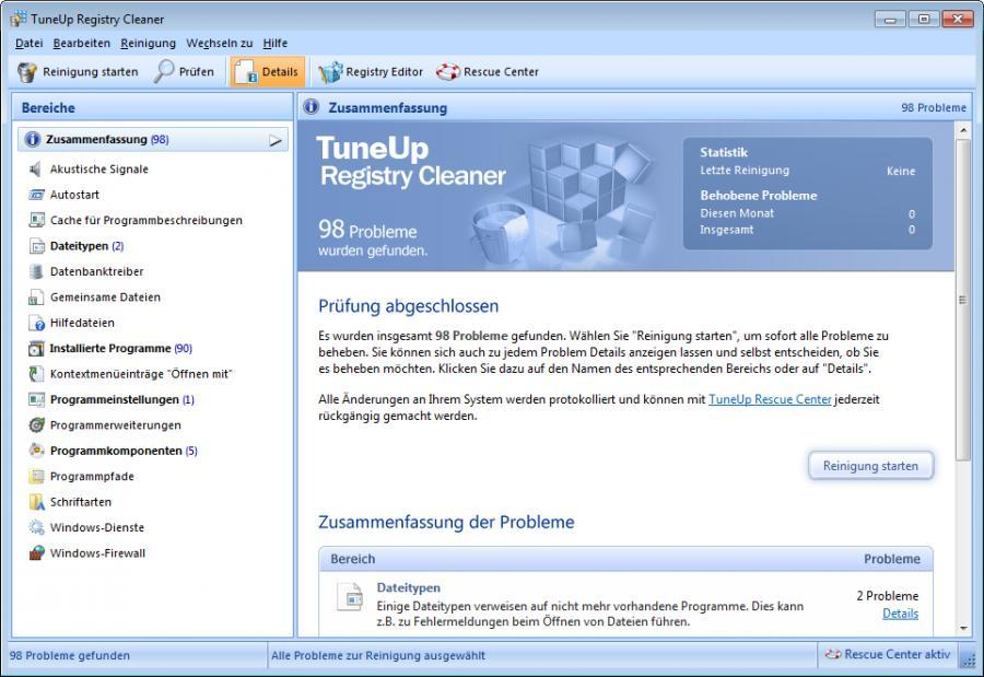 TuneUp Utilities 2014 (3 usuarios) Screenshot 7