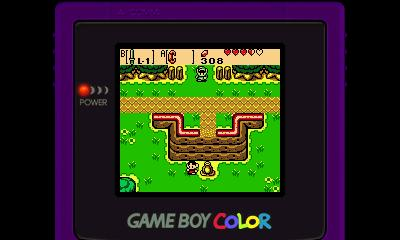 Legend of Zelda - Oracle of Seasons (GBC) - 3DS Screenshot 2