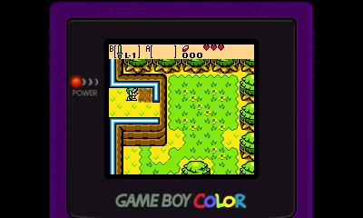 Legend of Zelda - Oracle of Ages (GBC) - 3DS Screenshot 2