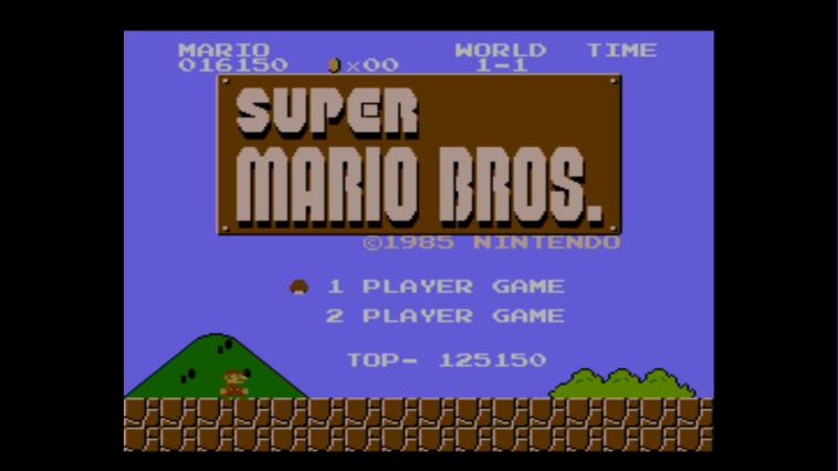 Super Mario Bros (NES) - 3DS Screenshot 1