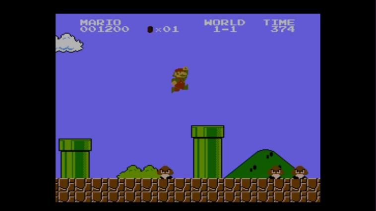 Super Mario Bros (NES) - 3DS Screenshot 2