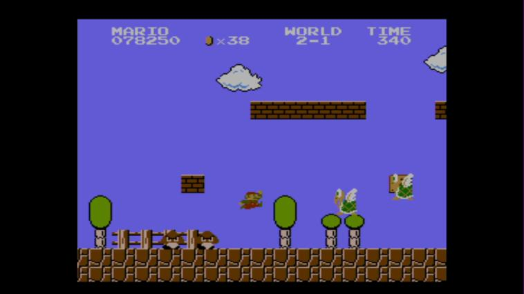 Super Mario Bros (NES) - 3DS Screenshot 3