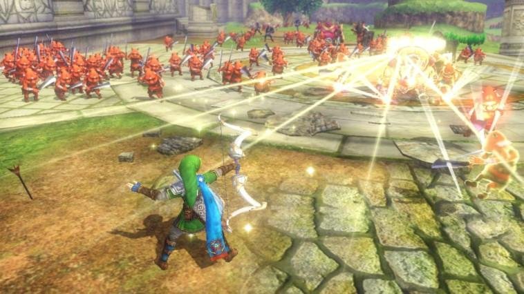 Hyrule Warriors - Wii U Código de Descarga Screenshot 2