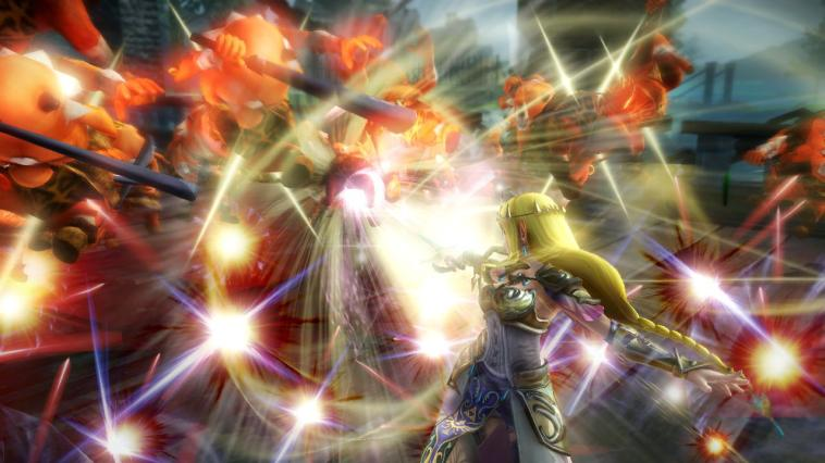Hyrule Warriors - Wii U Código de Descarga Screenshot 4