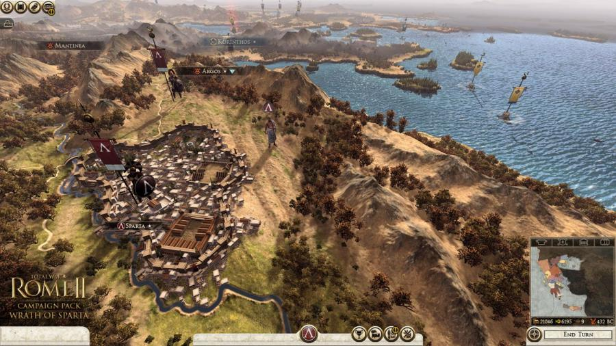 Total War Rome 2 - Wrath of Sparta DLC Screenshot 1