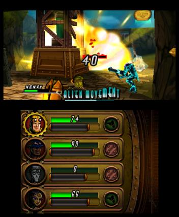 Code Name STEAM - 3DS Screenshot 8