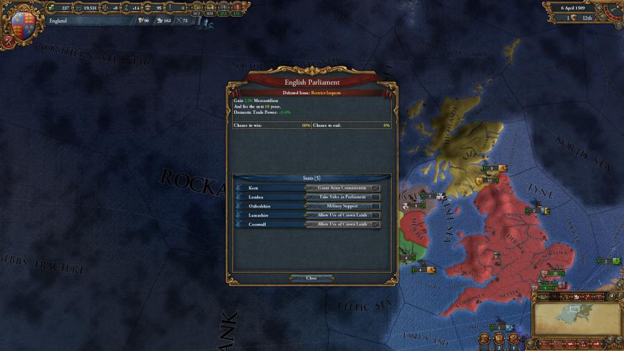 Europa Universalis IV - Common Sense (extensión) Screenshot 6