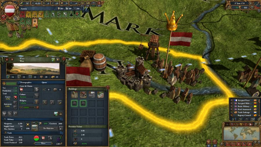 Europa Universalis IV - Common Sense (extensión) Screenshot 4