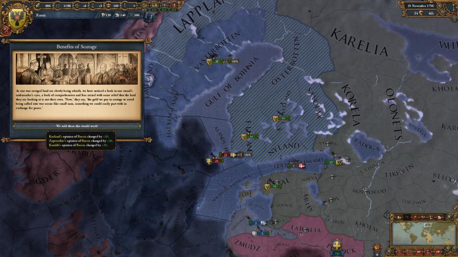 Europa Universalis IV - Common Sense (extensión) Screenshot 7