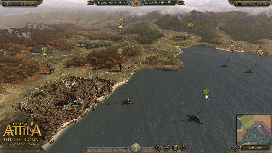 Total War Attila - The Last Roman Campaign Pack (DLC) Screenshot 3