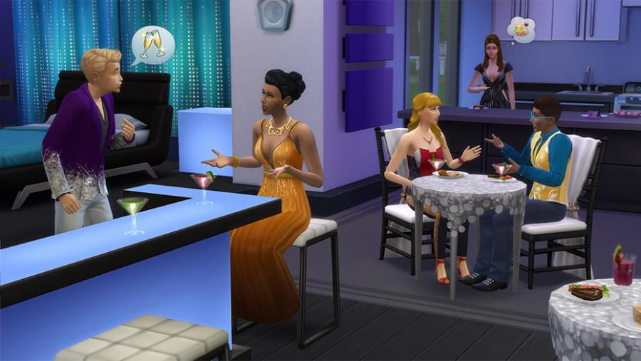 Los Sims 4 - Día de Spa + Fiesta Glamurosa Pack de Accesorios + Patio de Ensueño Pack de Accesorios Bundle Screenshot 3