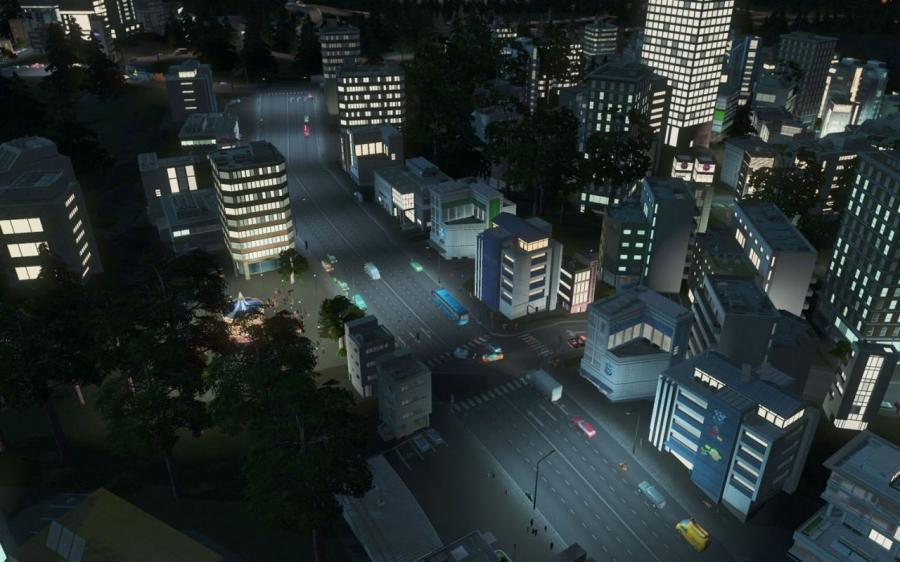 Cities Skylines - After Dark (Expansion) Screenshot 2