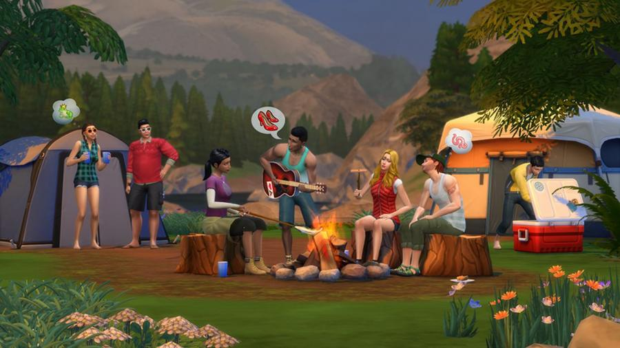 los sims 4 de acampada cocina divina pack de accesorios escalofriante pack de accesorios bundle - Cocina Divina