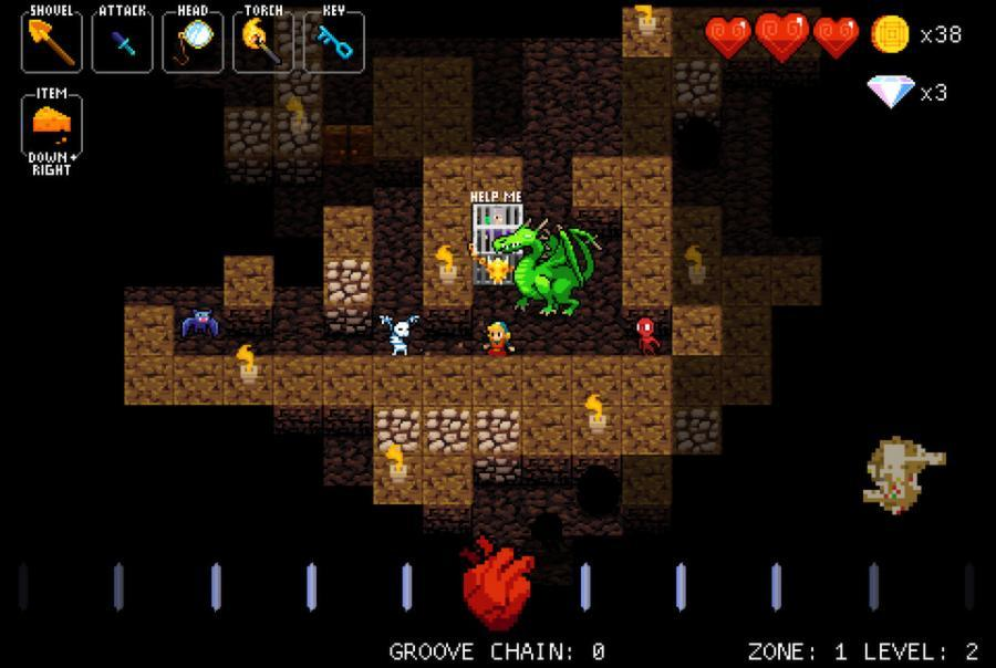 Crypt of the NecroDancer - Steam Gift Key Screenshot 2