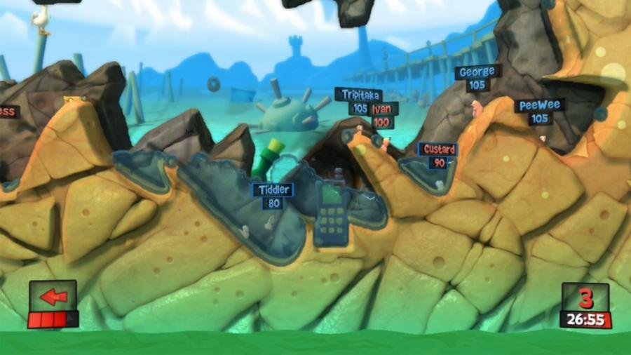 Worms Revolution - Steam Gift Key Screenshot 2