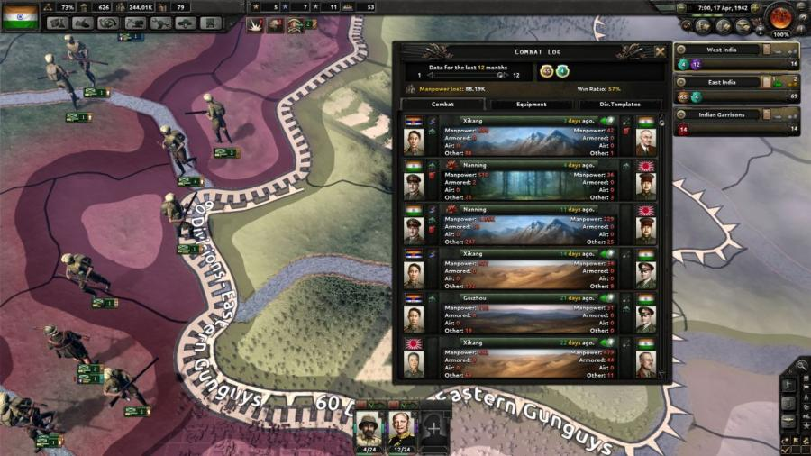 Hearts of Iron IV - Together for Victory (Expansion) Screenshot 9