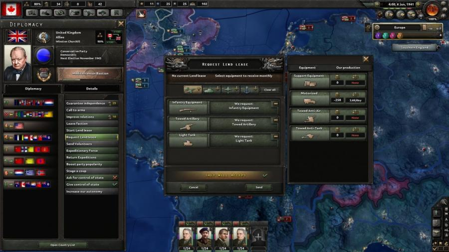 Hearts of Iron IV - Together for Victory (Expansion) Screenshot 4