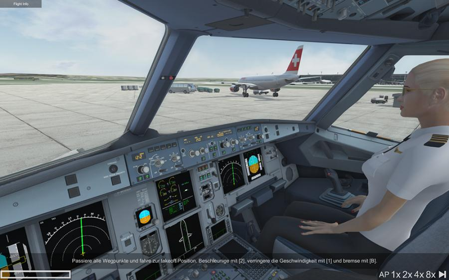 A320 Simulator - Ready for Take off Screenshot 2