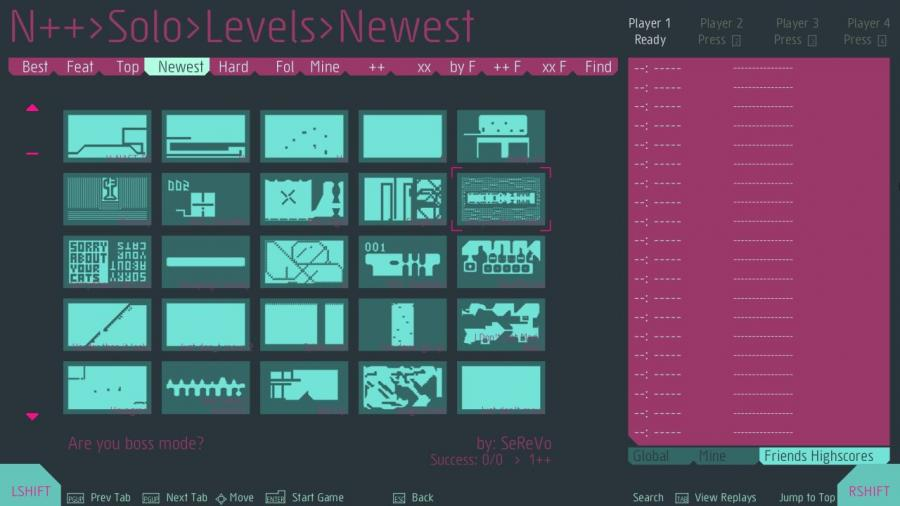 N++ (NPLUSPLUS) Screenshot 4