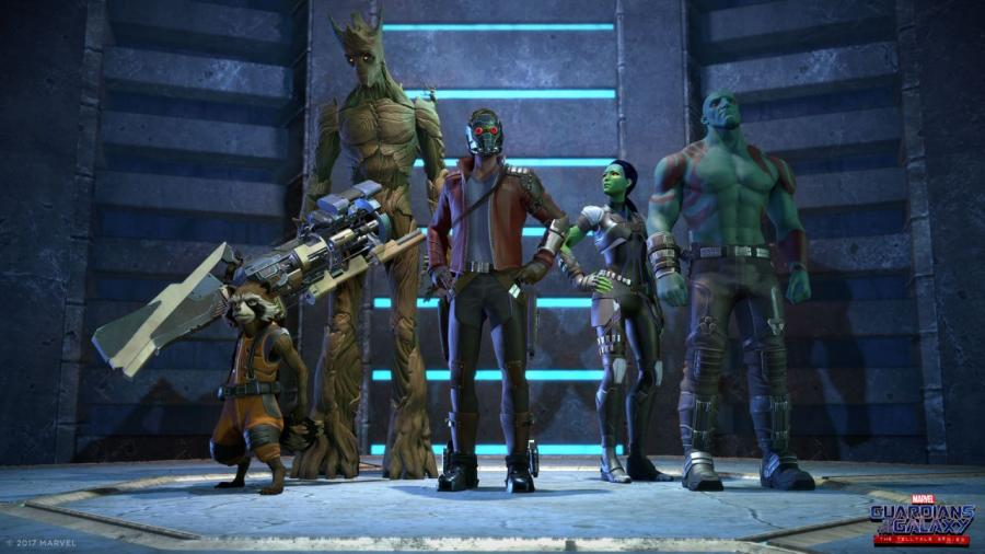 Marvel's Guardians of the Galaxy - The Telltale Series Screenshot 1