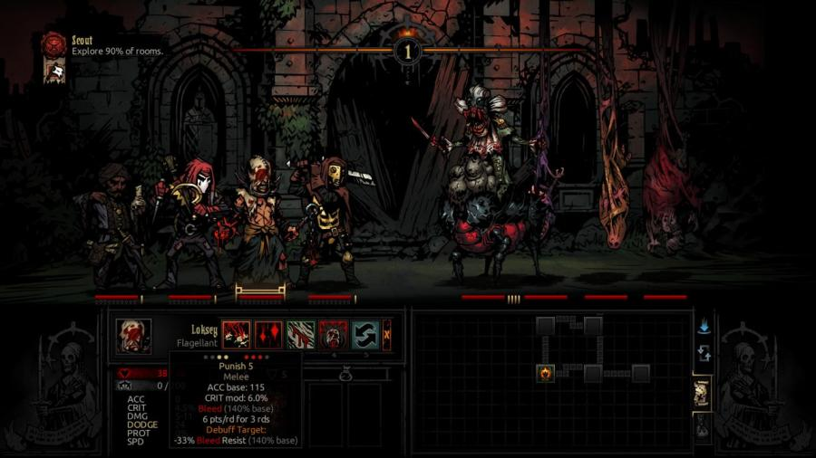 Darkest Dungeon - The Crimson Court (DLC) Screenshot 3
