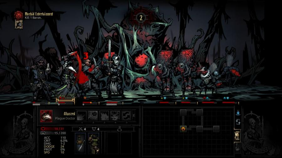 Darkest Dungeon - The Crimson Court (DLC) Screenshot 4
