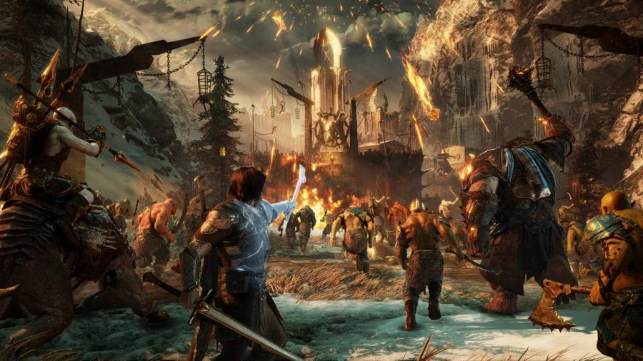 La Tierra Media Sombras de Guerra (Middle-Earth Shadow of War) - Gold Edition Screenshot 1