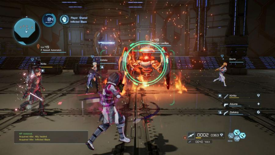 Sword Art Online - Fatal Bullet Screenshot 7