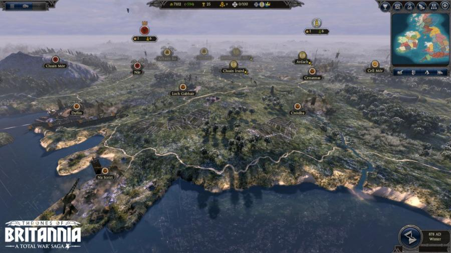 Total War Saga - Thrones of Britannia Screenshot 5