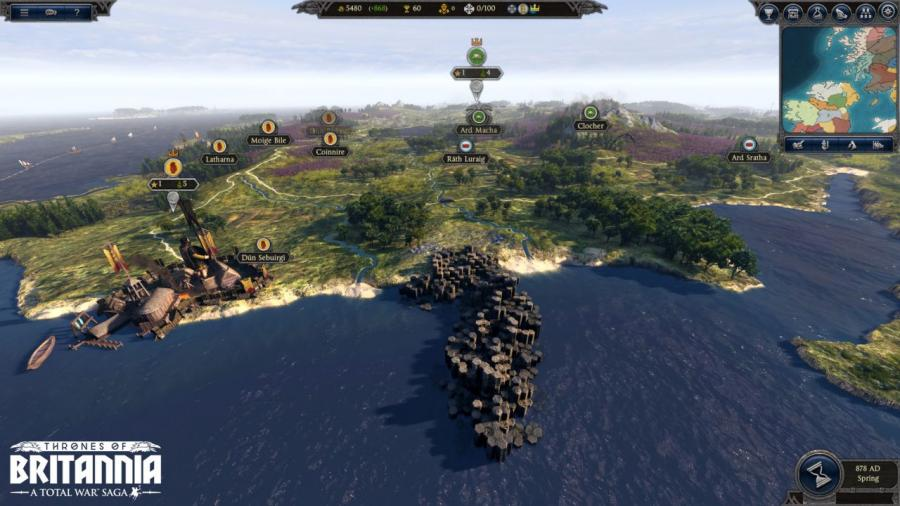 Total War Saga - Thrones of Britannia Screenshot 3
