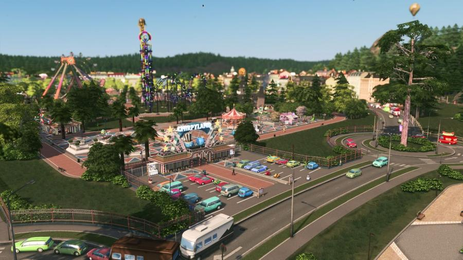 Cities Skyline - Parklife (DLC) Screenshot 4