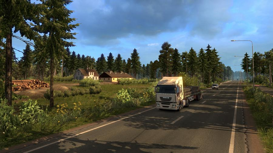 Euro Truck Simulator 2 - Beyond the Baltic Sea (DLC) - EU Key Screenshot 2