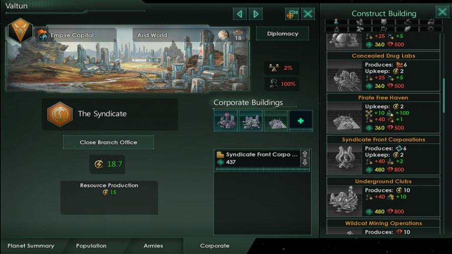 Stellaris - MegaCorp (DLC) Screenshot 6
