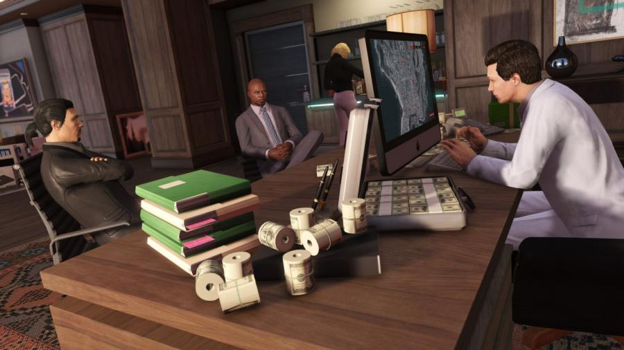 GTA 5 + Criminal Enterprise Starter Pack + Great White Shark Card Bundle Screenshot 2