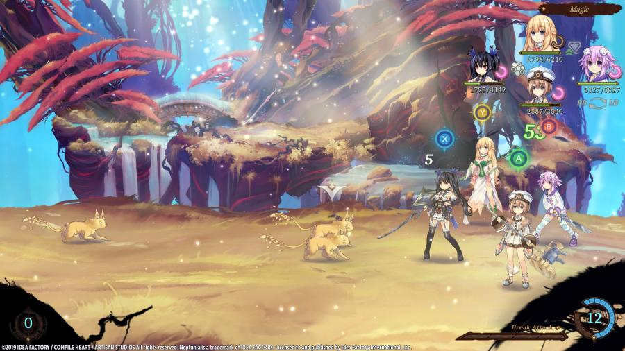 Super Neptunia RPG Screenshot 3