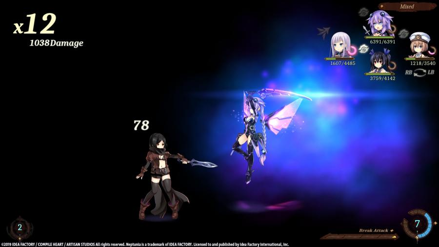 Super Neptunia RPG Screenshot 2