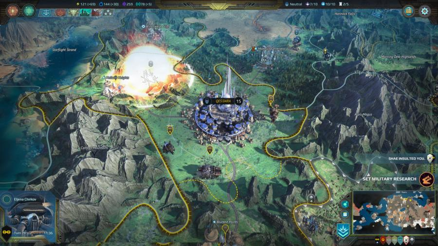 Age of Wonders Planetfall - Deluxe Edition Screenshot 9
