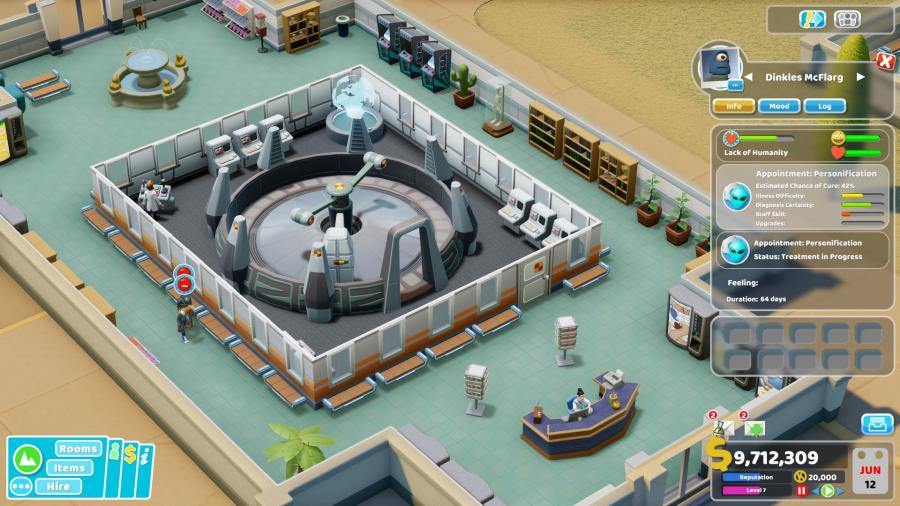 Two Point Hospital - Close Encounters (DLC) Screenshot 5