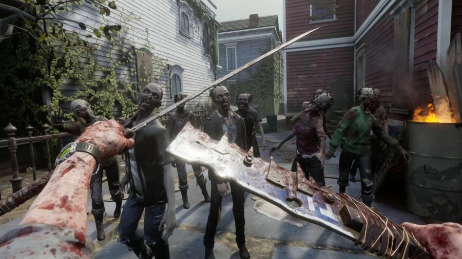 The Walking Dead - Saints & Sinners [VR Game] - Tourist Edition Screenshot 2