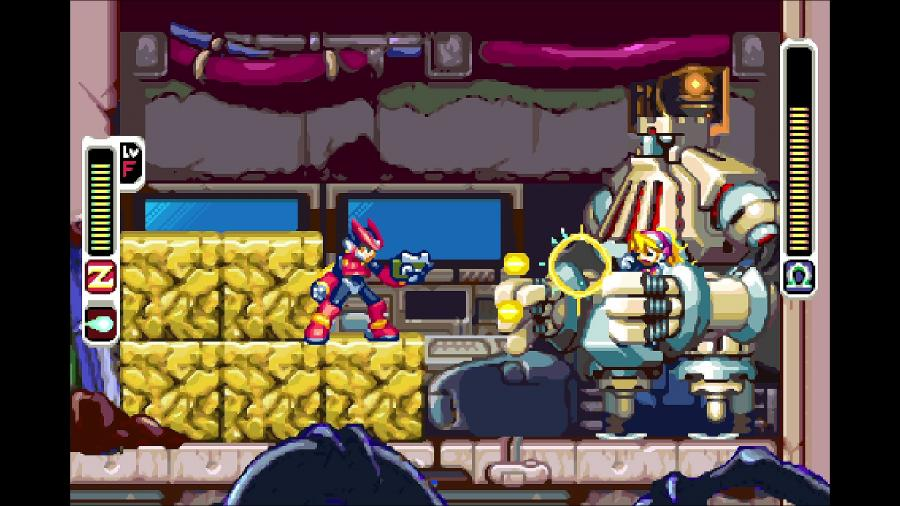 Mega Man Zero / ZX Legacy Collection Screenshot 4