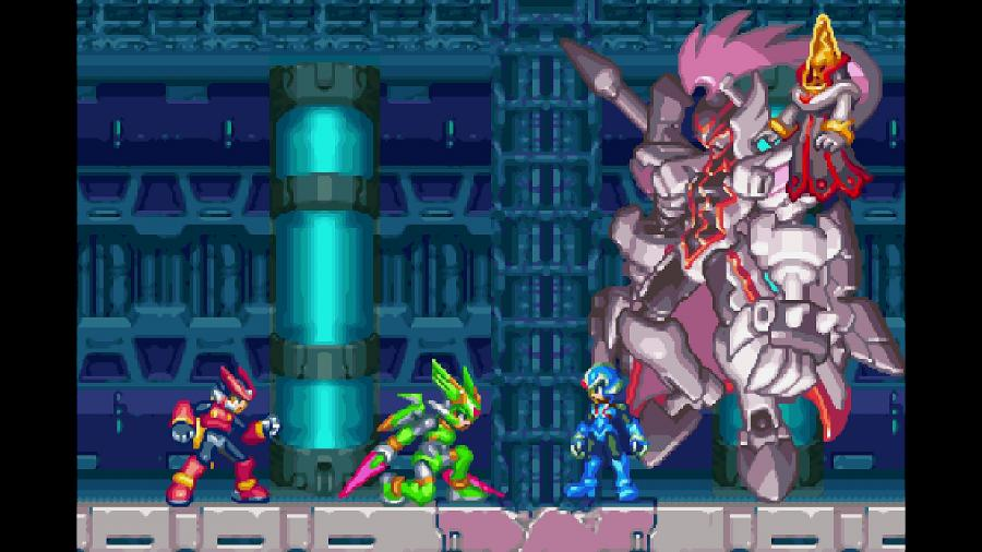 Mega Man Zero / ZX Legacy Collection Screenshot 5