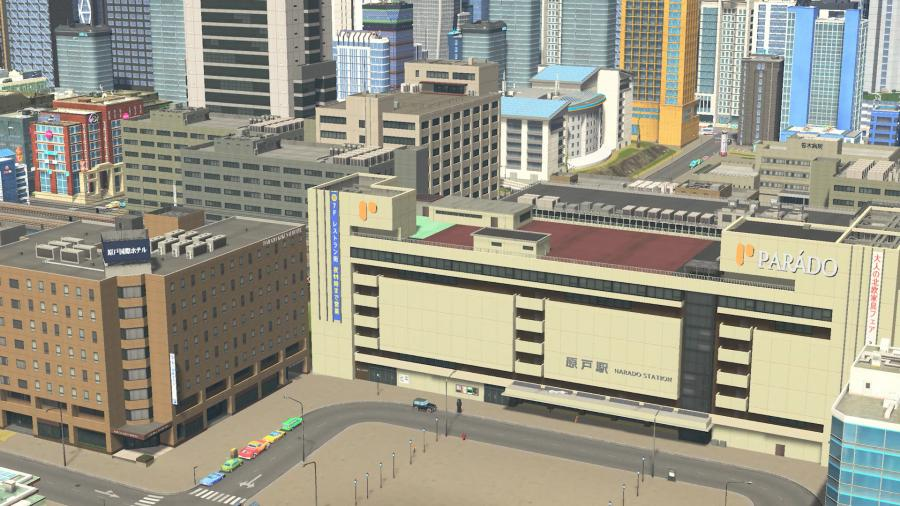 Cities Skylines - Content Creator Pack Modern Japan (DLC) Screenshot 7