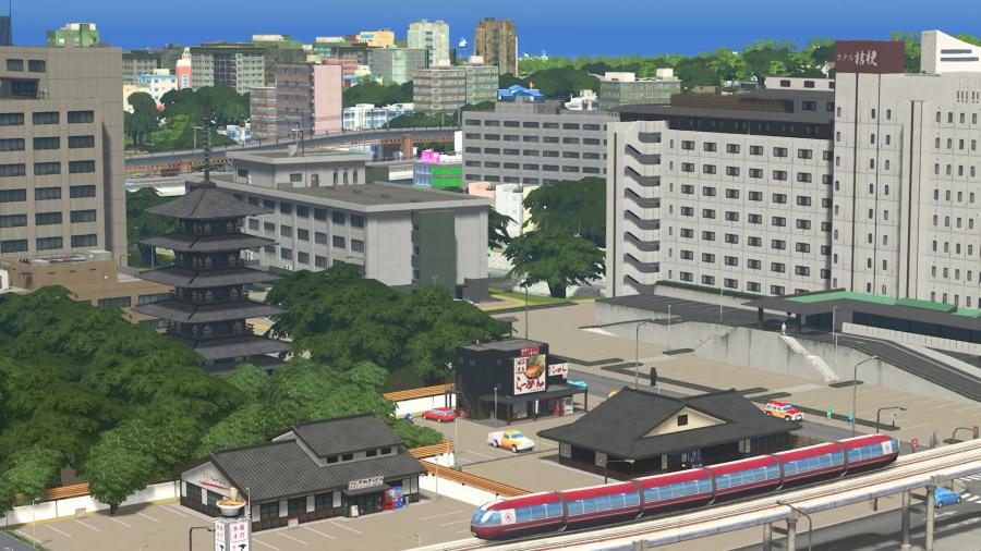 Cities Skylines - Content Creator Pack Modern Japan (DLC) Screenshot 2